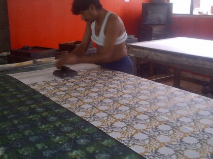 The Art of block printing in India