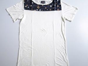 Tshirt 100% coton avec application soie.