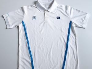 Tshirt en micro polyester avec sublimation logo pour un usage promotionnel.
