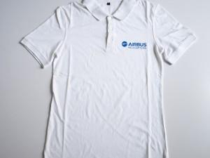 Polo en jersey de coton avec stone wash pour un usage promotionnel