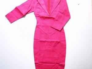Robe en coton et lycra pour un fitting parfait !