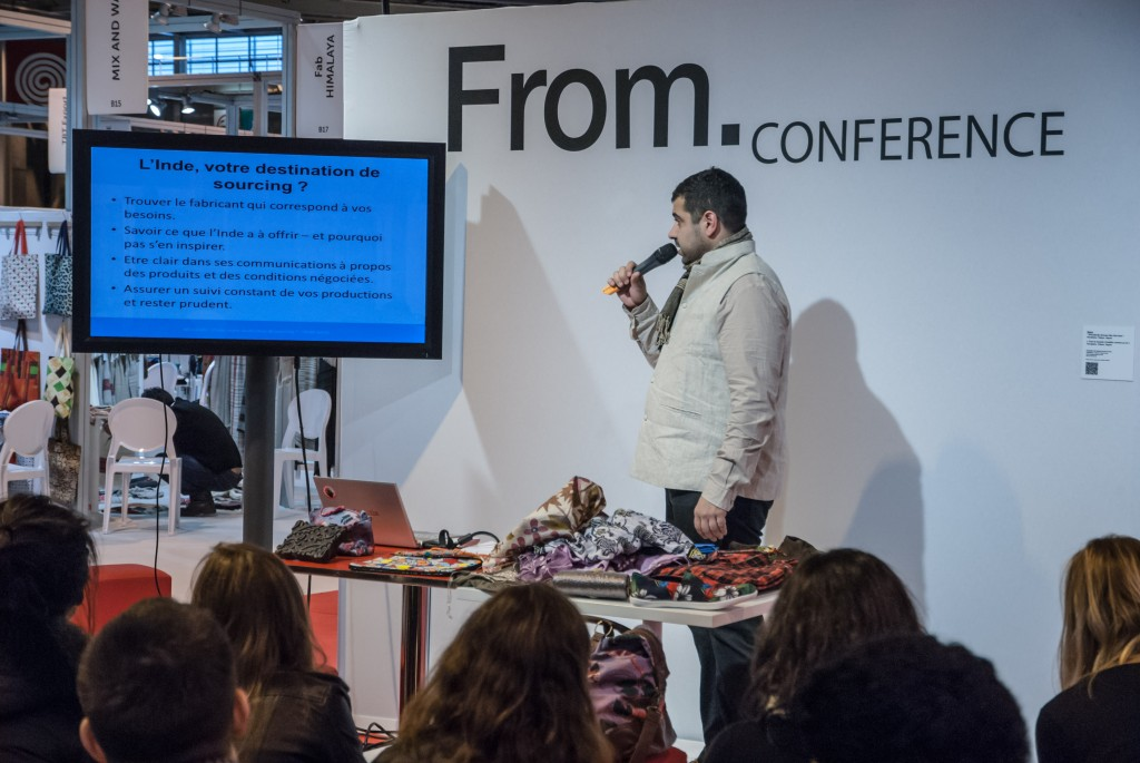 Conférence, fabrication textile inde
