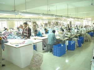 Le processus de fabrication de produits textiles en Inde
